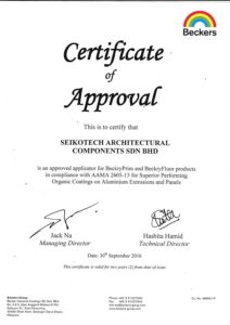 Approved Applicator for Beckers